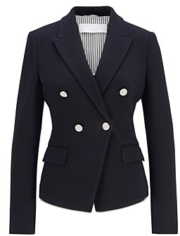 HUGO BOSS Jocala Double Breasted Blazer