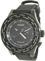 Nixon Passport Black Dial Men's World Time Watch A321001-00