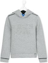 Karl Lagerfeld let's hoodie - kids - Cotton/Polyester/Spandex/Elastane - 16 yrs