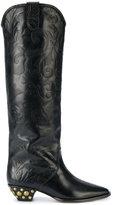 Isabel Marant studded heel boots