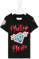 Philipp Plein Junior embellished T-shirt