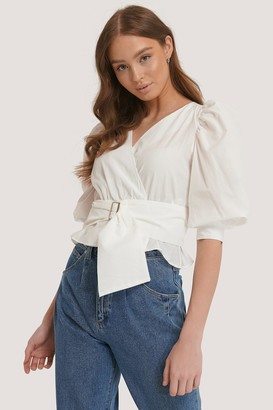 Trendyol Puff Sleeve Binding Detailed Blouse
