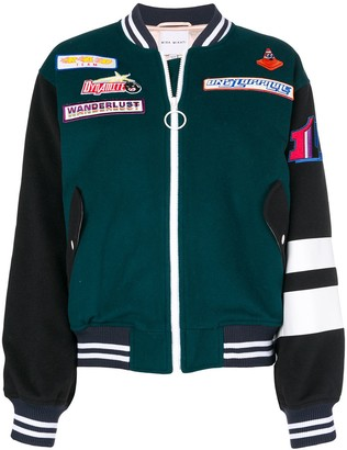 Mira Mikati Adrenalin Seekers bomber jacket