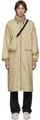 Maison Margiela Beige Nylon Sports Coat