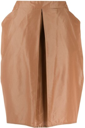 Gianfranco Ferré Pre-Owned 1990s Inverted Pleat Skirt