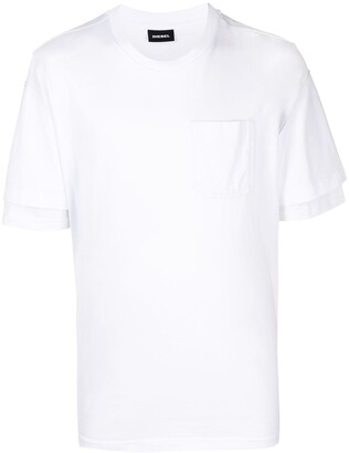Diesel T-Fontal supima cotton T-shirt