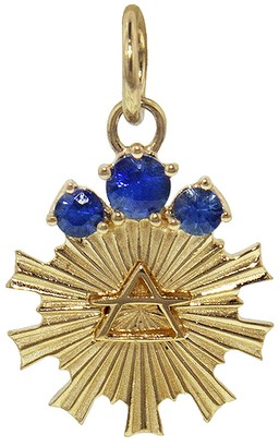 Foundrae Miniature Air Element Medallion - Yellow Gold