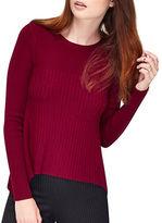 Miss Selfridge Cut About Long Sleeve Crewneck Sweater