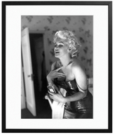 Sonic Editions Marilyn Getting Ready to Go Out (Framed)