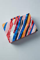 Anthropologie Sunset Lucite Clutch