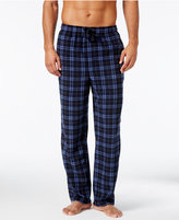 Perry Ellis Men's Plaid Fleece Pajama Pants