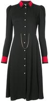 Altuzarra Filippa Chain Detail Button Down Dress