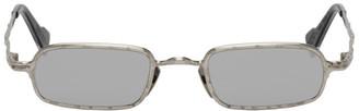 Kuboraum Silver Maske Z18 Sunglasses