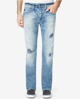 Buffalo David Bitton Men's Slim-Straight SIX-X Ripped Jeans