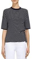 Whistles Striped Knit Top
