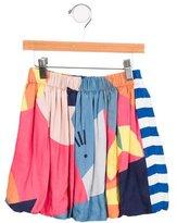 Stella McCartney Girls' Colorblock Mini Skirt