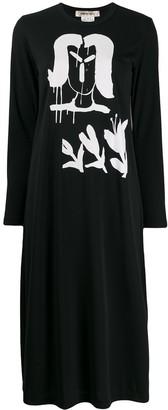 Comme des Garcons Printed Jersey Dress