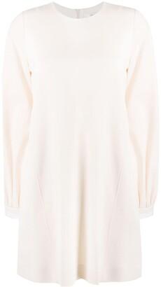Victoria Victoria Beckham Bell Sleeve Shift Dress