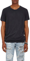 Ksubi Men's Bad Habits Distressed Cotton-Linen T-Shirt