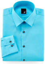 Jf J.Ferrar JF Easy-Care Solid Dress Shirt - Slim Fit
