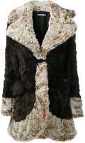 Alessandra Rich - faux fur coat - women - Acrylic/Polyester/Viscose/Cupro - 40