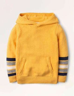 Knitted Stripe Hoodie