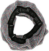 Missoni blurry stripes circular scarf - women - Nylon/Wool - One Size