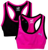 Puma Seamless Sports Bra - Pack of 2 (Big Girls)