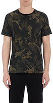 Rag & Bone Men's Camouflage Cotton T-Shirt-GREEN