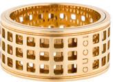 Gucci 18K Cutout Spinning Ring