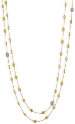 Marco Bicego Siviglia Diamond & 18K Yellow Gold Long Necklace