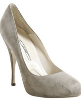 grey suede 'Tonya' pumps