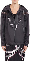Y-3 Men's Hooded Performance Jacket-Black Size Xs