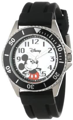 EWatchFactory Disney Men's W000507 Mickey Mouse Honor Rubber Strap Watch