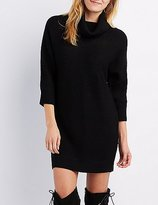 Charlotte Russe Cowl Neck Dolman Sweater Dress