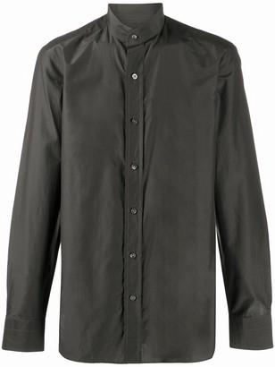 Tom Ford Mandarin Collar Buttoned Shirt