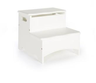 Guidecraft Classic Storage Step-Up - White