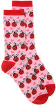 K. Bell Women's Ladybugs Women's Crew Socks