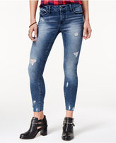 Celebrity Pink Juniors' Destructed Skinny Ankle Jeans