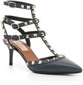 Valentino Ankle Strap Rockstud Sandals