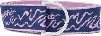 M Missoni Logo Print Belt