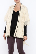 Sisters Fringed Poncho