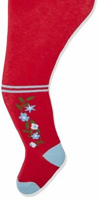 Playshoes Baby Girls' Landhaus und Unifarben mit Komfortbund Tights