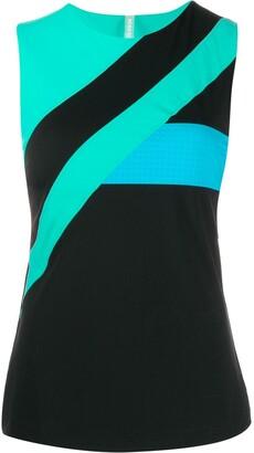 NO KA 'OI Colour-Block Sleeveless Top