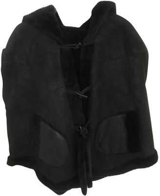 Meteo Black Mongolian Lamb Jackets