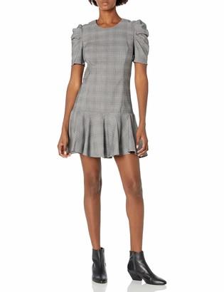 Amanda Uprichard Women's Bekah Puff Sleeve Mini Dress