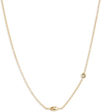 Gorjana Power Birthstone Necklace