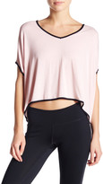 Pink Lotus Second Position V-Neck Blouse