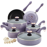 Paula Deen Signature Porcelain Non-Stick Cookware Set (15 PC)