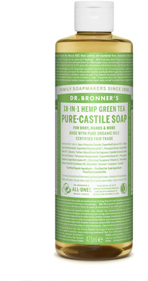 Dr. Bronner's 18 In 1 Hemp Green Tea Pure Castile Liquid Soap 473Ml